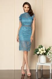 rochii din dantela cu spatele decupat de vara