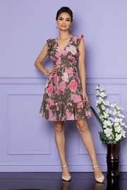 rochii elegante de vara cu imprimeu floral
