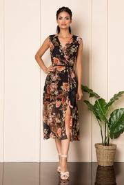 rochii lungi de vara cu imprimeuri florale