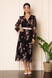 rochii rosii elegante de vara
