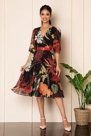 rochii scurte de vara cu floricele
